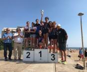 L'equip femení de Triatló campió a Santa Susanna