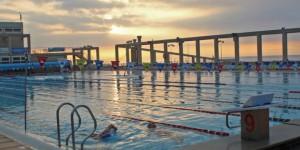 La piscina olímpica va recuperant la temperatura. Treballem per estar a punt