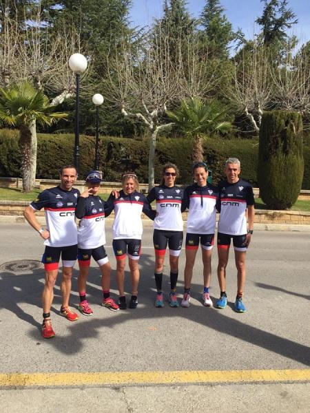 La Judit Zaragoza i en Cano, campions d'Espanya de Duatló en grups d'edats
