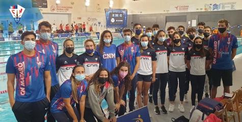 6a. posició del nostre equip Absolut de Natació a la Copa Catalana